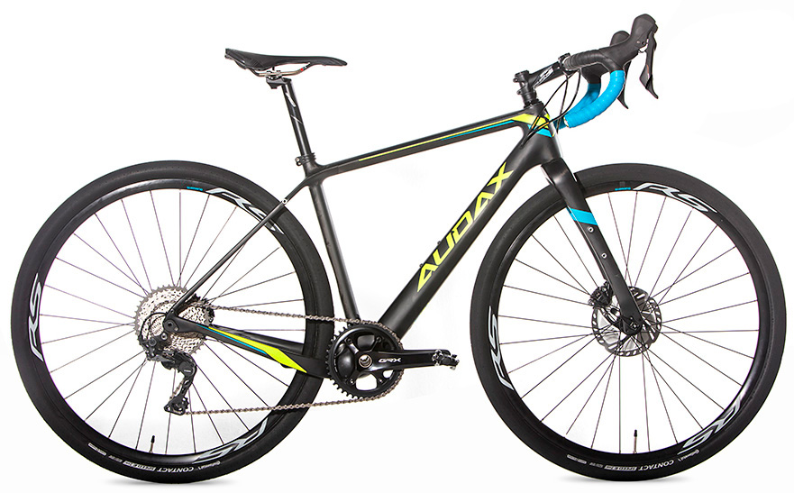 Bicicleta Audax Pampero Gravel Carbon, Tamanho 44