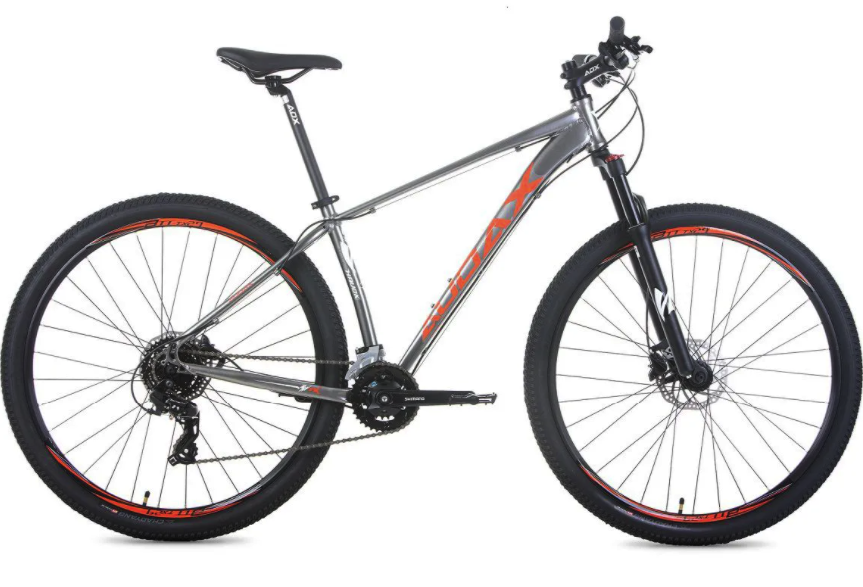 Bicicleta Audax Havok TX, Vermelha, Tourney, 16 velocidades