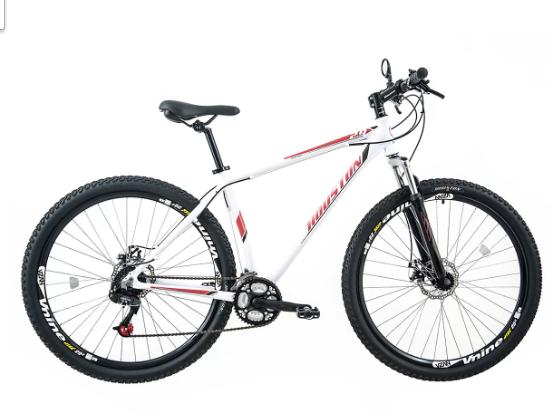 Bicicleta Houston Mercury HT, Branca, Tamanho G