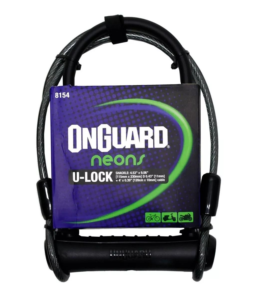 Cadeado Onguard Neon U-Lock 8154
