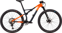 Bicicleta Cannondale Scalpel Carbon 2 2021, Laranja