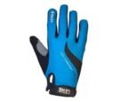 Luva Skin Sport Air Gel, Azul e Preto